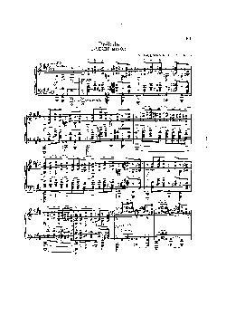 Prelúdio em Dó sustenido menor: Opus 3 nº 2 - partitura