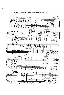 Prelúdio em Ré menor: Opus 23 nº 3 - partitura