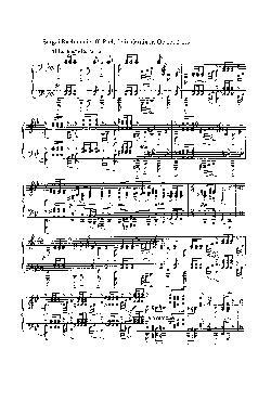 Prelúdio em Sol menor: Opus 23 nº 5 - partitura