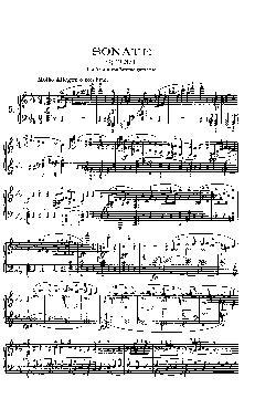 Sonata para piano nº 5 em Dó menor: Opus 10 nº 1 - partitu ...