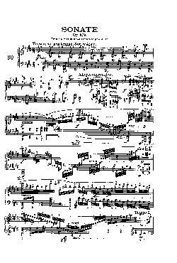 Sonata para piano nº 30 em Mi maior: Opus 109 - partitura