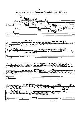 Tocata e fuga em Ré menor - partituras