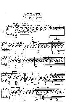 Sonata para Piano nº 14 em Dó Sustenido menor: Opus 27 nº  ...