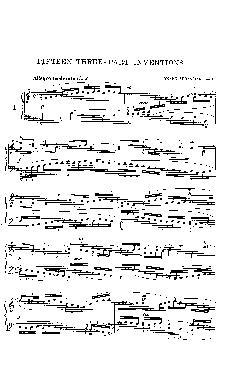 Sinfonia nº 1 em Dó Maior - partitura