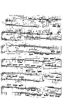 Sinfonia nº 7 em Mi menor - partitura