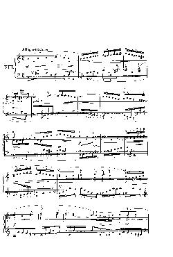 Sinfonia nº 13 em Lá menor - partitura