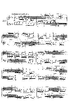 Sinfonia nº 14 em Si bemol Maior - partitura