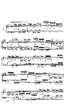 Sinfonia nº 15 em Si menor - partitura