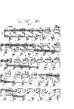 Prelúdio Opus 28 nº 1 em Dó Maior - partitura