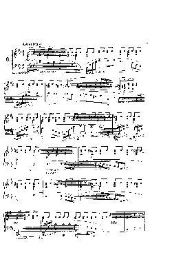Prelúdio Opus 28 nº 6 em Si menor - partitura