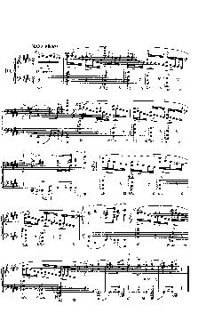 Prelúdio Opus 28 nº 10 em Dó Sustenido menor - partitura