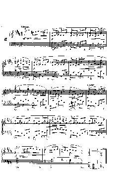 Prelúdio Opus 28 nº 11 em Si Maior - partitura