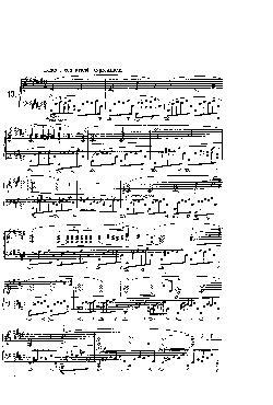 Prelúdio Opus 28 nº 13 em Fá Sustenido Maior - partitura