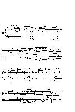 Prelúdio Opus 28 nº 18 em Fá menor - partitura