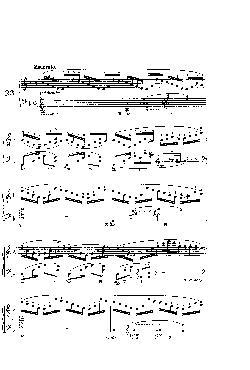 Prelúdio Opus 28 nº 23 em Fá Maior - partitura