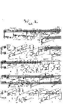 Prelúdio Opus 45 em Dó Sustenido menor - partitura