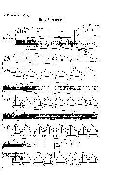 Noturno nº 7 em Dó Sustenido menor: Opus 27 nº 1 - partitu ...