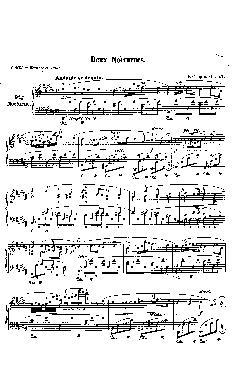 Noturno nº 9 em Si Maior: Opus 32 nº 1 - partitura