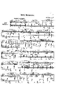 Noturno nº 11 em Sol menor: Opus 37 nº 1 - partitura