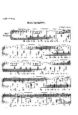 Noturno nº 15 em Fá menor: Opus 55 nº 1 - partitura