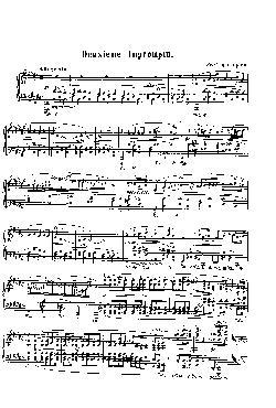 Improviso: Opus 36, nº 2 em Fá Sustenido Maior - partitura