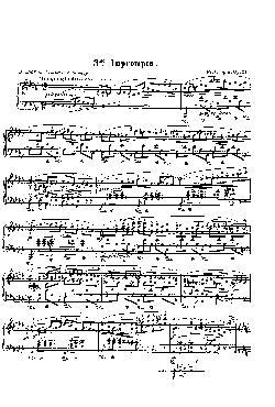 Improviso: Opus 51, nº 3 em Sol Bemol Maior - partitura