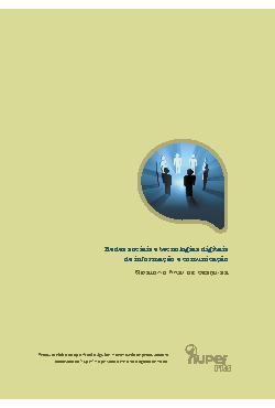 Redes sociais e tecnologias digitais de informação e comun ...
