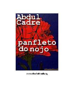 <font size=+0.1 >Panfleto do Nojo</font>