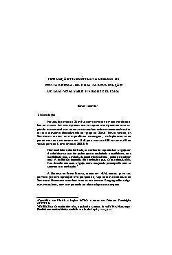 Revista de História Regional   Volume 7 N° 2   Formação f ...