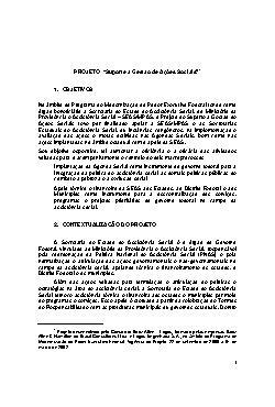 Suporte à Gestão de Ações Sociais (SEAS)
