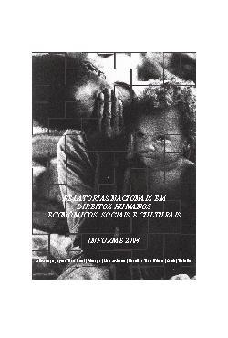 Relatórios Nacionais em Direitos Humanos, Econômicos, Soci ...