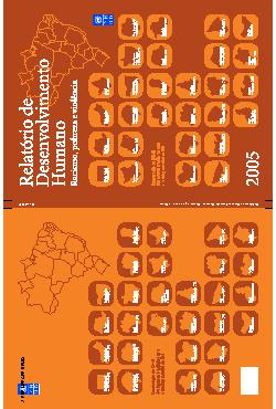 Relatórios do Desenvolvimento Humano - RDH Brasil2005
