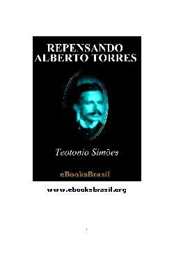Repensando Alberto Torres