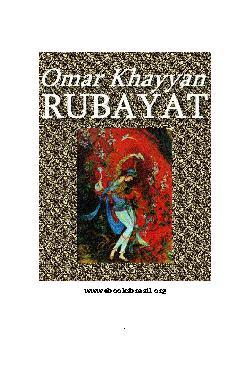 <font size=+0.1 >Os Rubayat</font>