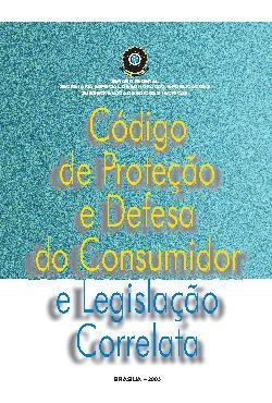 Código de  proteção e defesa do consumidor e legislação corr[..]
