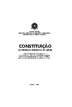 Constituição da República Federativa