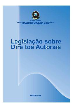 Legislação sobre direitos autorais