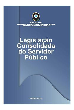 Legislação consolidada do servidor público