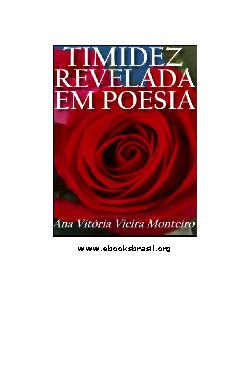 Timidez Revelada em Poesia