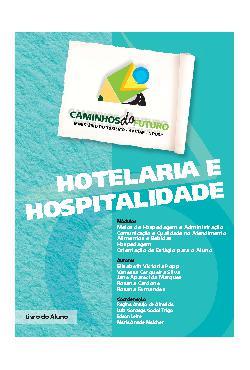 Caminhos do futuro: hotelaria e hospitalidade