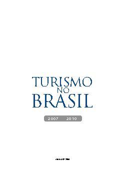 Turismo no Brasil: 2007-2010