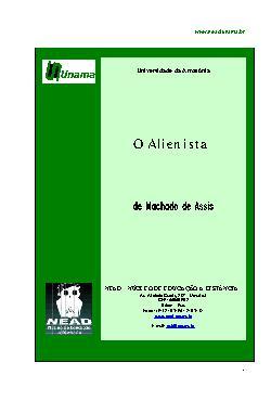 <font size=+0.1 >O Alienista</font>