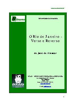 O Rio de Janeiro - Verso e Reverso