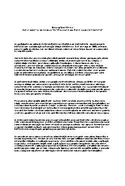 Declaração sobre a Ciência diante das Fronteiras do Conhec ...