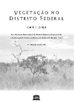 Vegetação no Distrito Federal: tempo e espaço