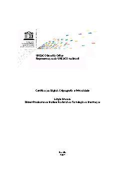 Certificação Digital, Criptografia e Privacidade