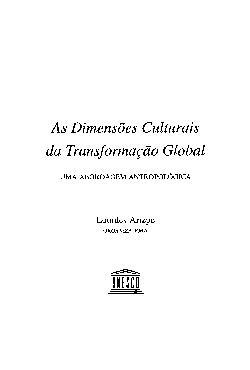 As dimensões culturais da transformação global: uma aborda ...