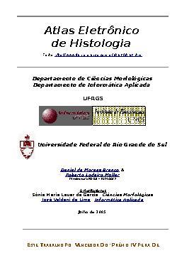 Atlas Eletrônico de Histologia
